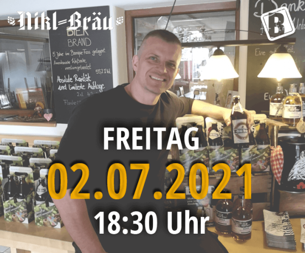 Nikl-Bräu Online-Tasting   02.07.2021